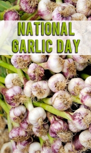 National-Garlic-Day
