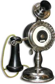 1905 Strowger Dial Candle