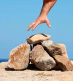 Grabbing Rock