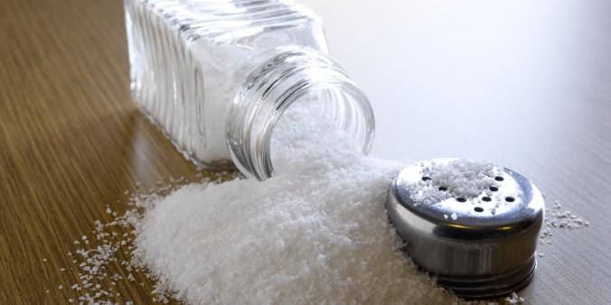 Spilled Salt and Shaker