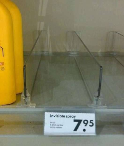Invisible Spray