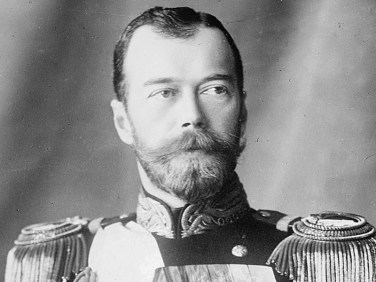 Czar Nicholas II Terrible at ruling, but great at growing facial hair