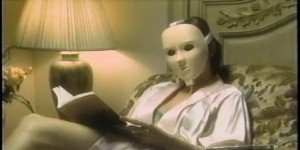 The Rejuvenique Electric Facial Mask. Just plug it into the wall , and it will do wonders for your face—like make you look like Jason from Friday the 13th.