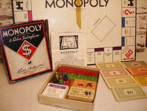 The 1935 edition of Monopoly